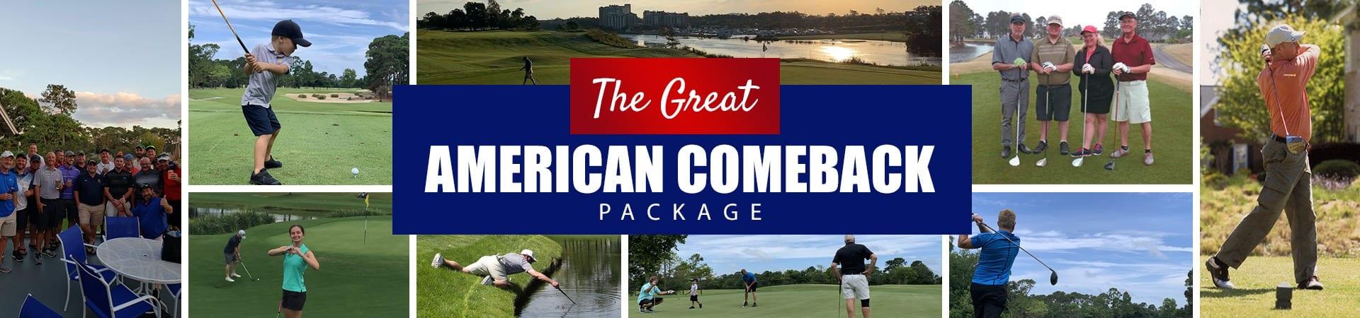 The Great American Comeback
