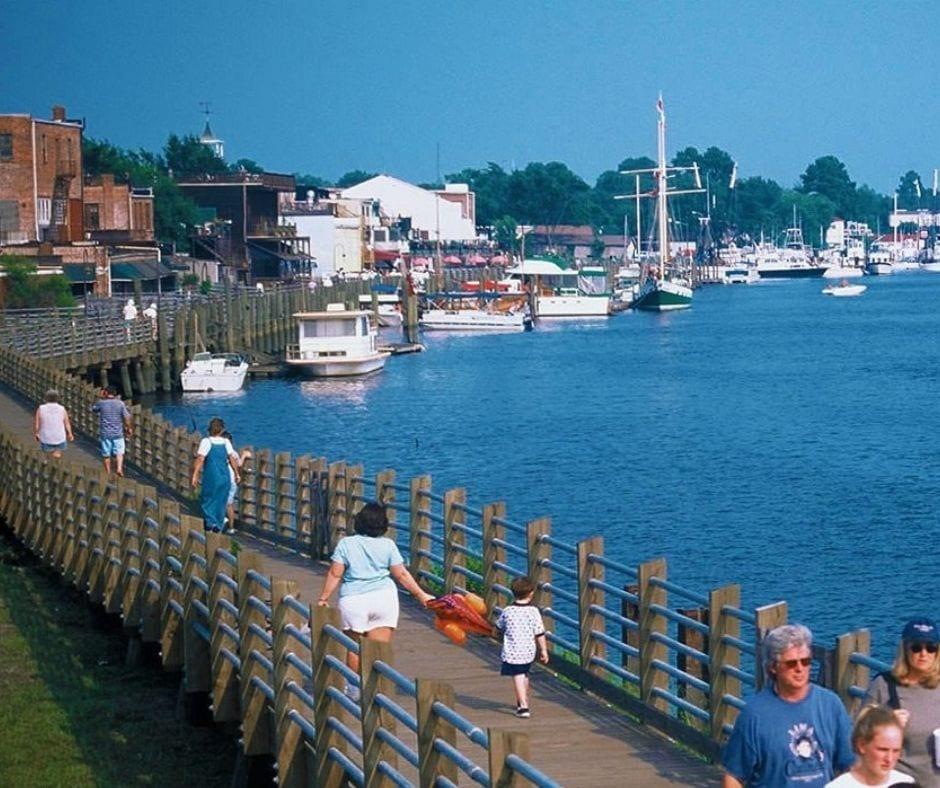 Harborwalk in Georgetown South Carolina