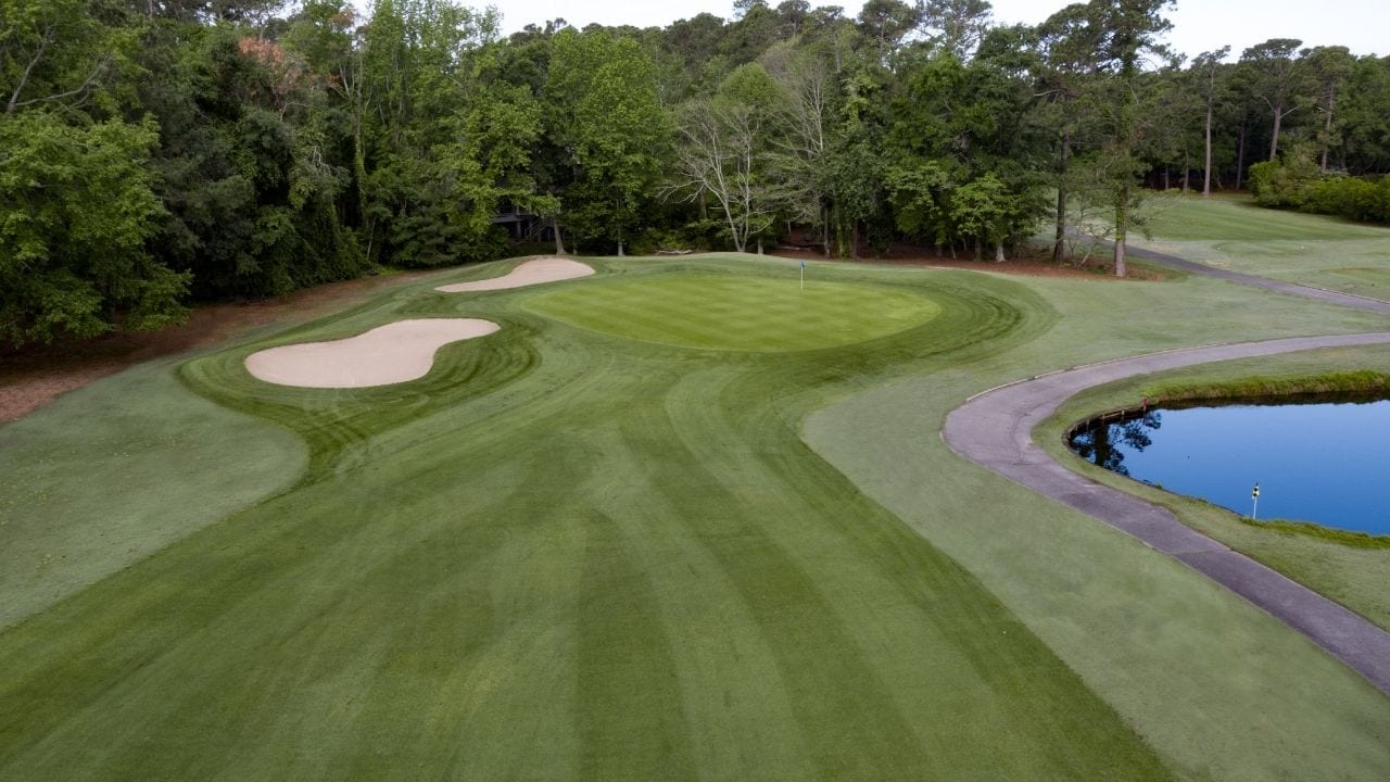 Fairway and Green at Litchfield Country Club