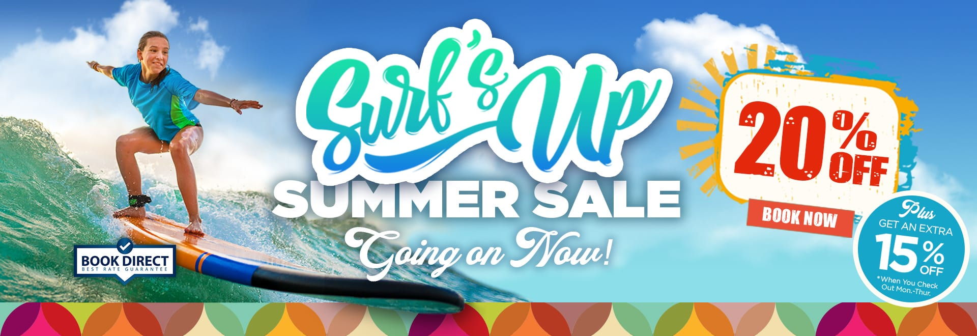 Surfs Up Summer Sale - Save up to 35%
