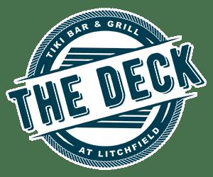 The Deck Tiki Bar & Grill logo